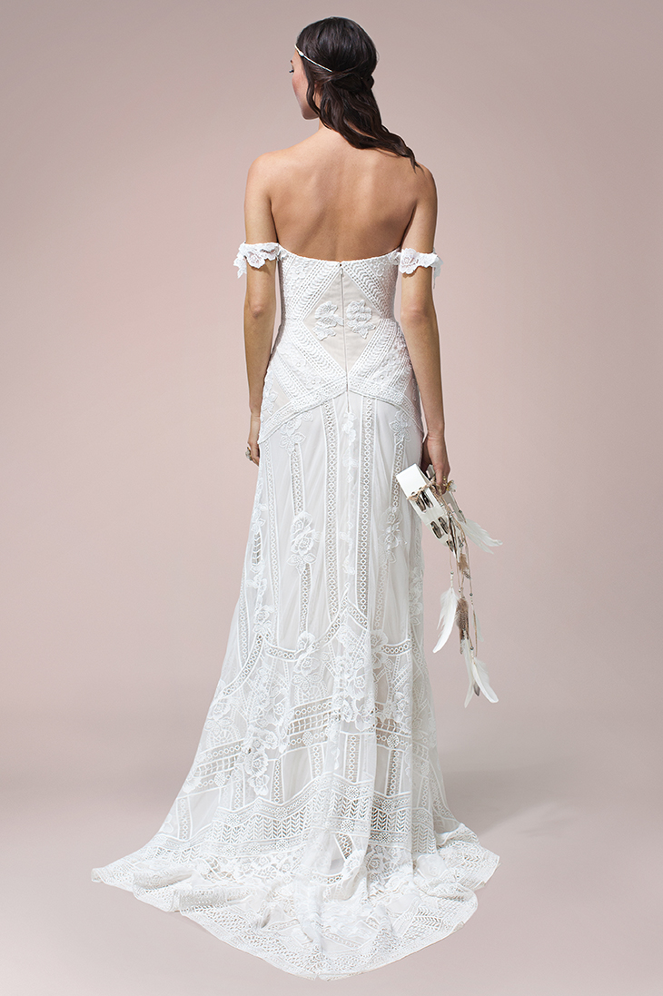 Rue De Seine Wedding dress Fox