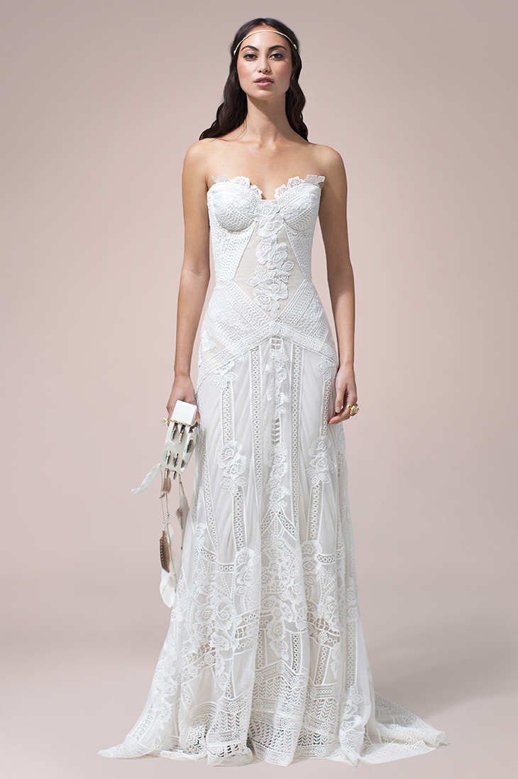 Rue De Seine Wedding dress Fox
