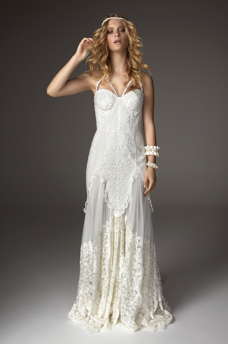 Wedding dresses by rue de seine available from paperswan for Rue de seine wedding dress prices