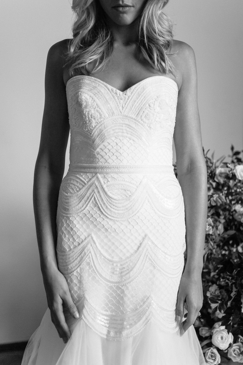 Wedding Dress KAREN WILLIS HOLMES Wedding dresses wellington christchurch nz new Zealand
