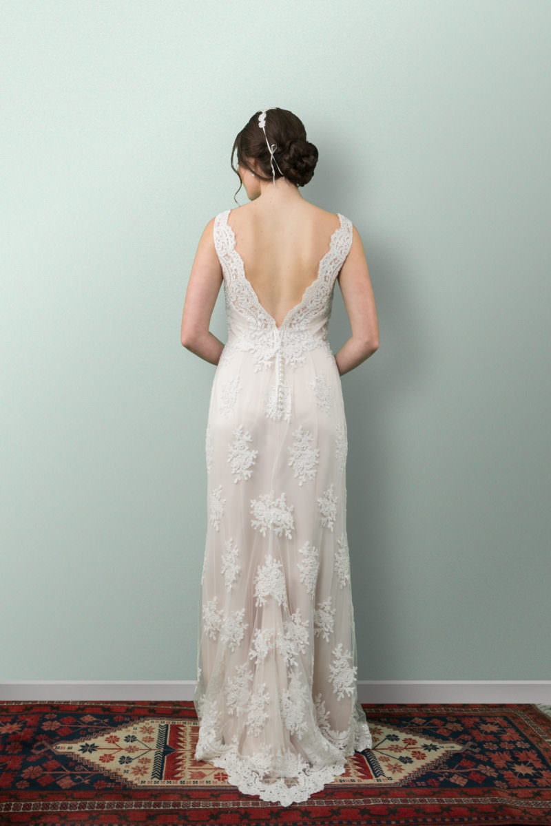 Aimee Lace Wedding Dress
