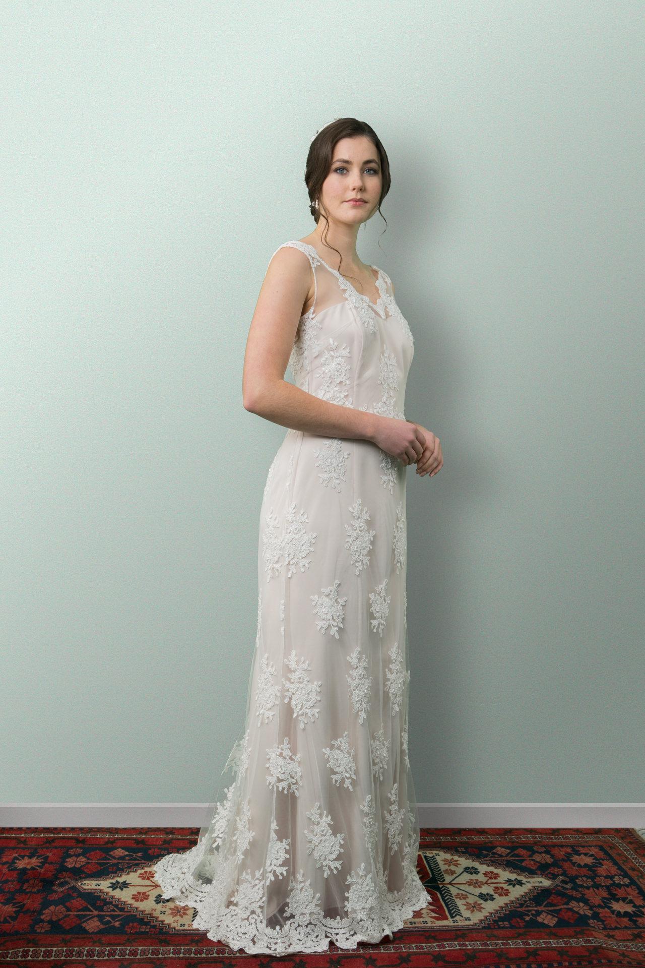 Aimee Lace Wedding Dress