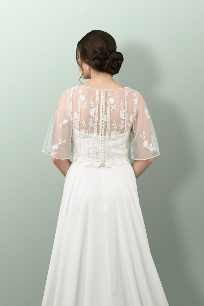 Chandelair wedding dress