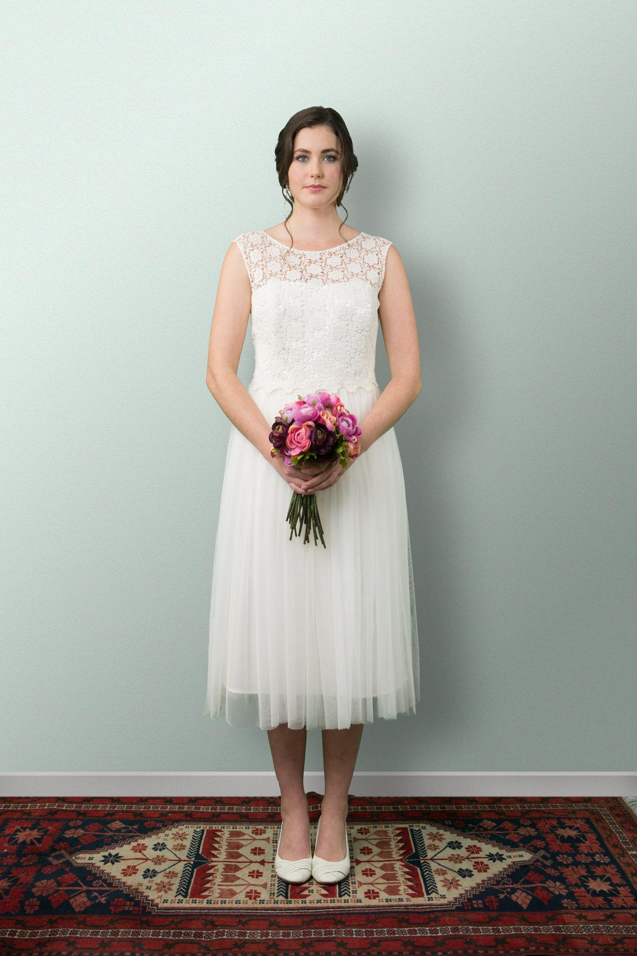 Short Swanlake Wedding Dress Sophie Voon