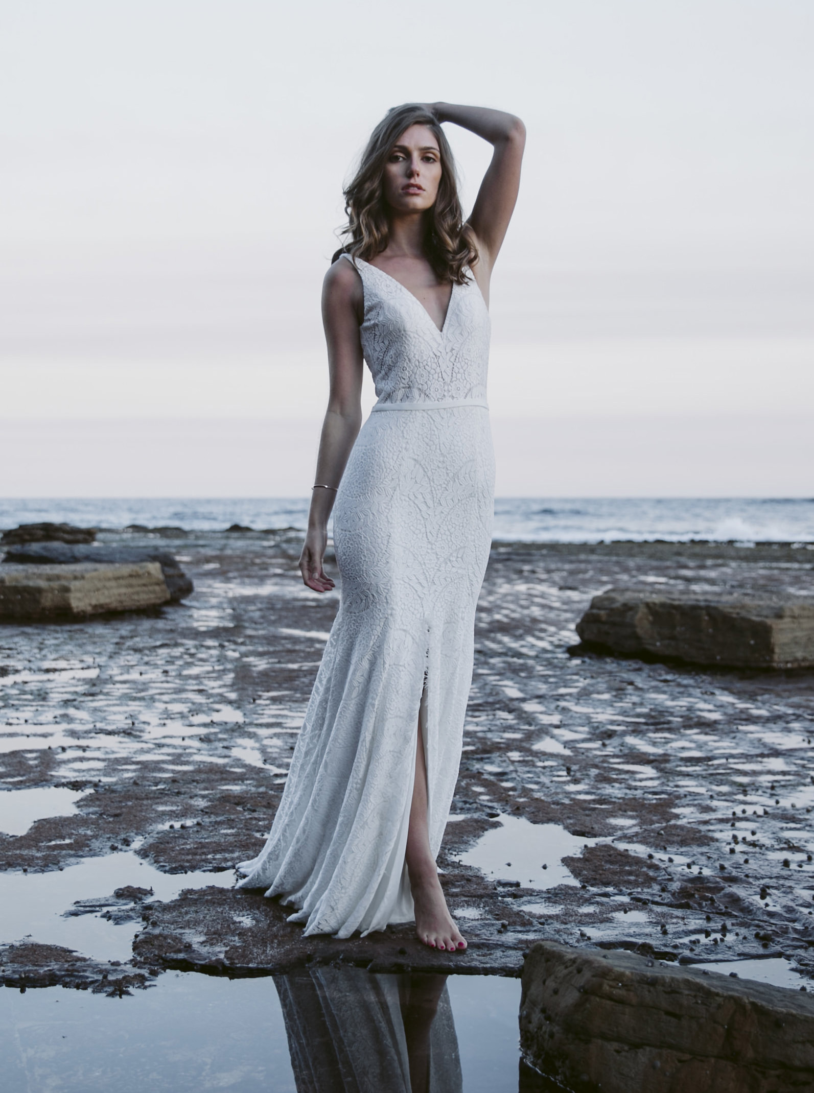 Daisy Desert Lily Wedding Dress