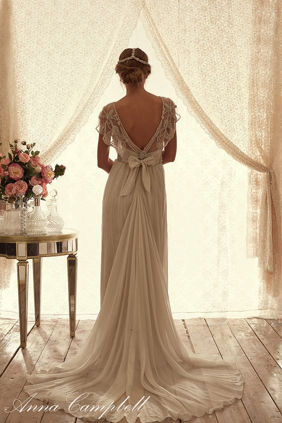 Adelaide Silk Tulle by Anna Campbell - Paperswan Bride Wedding Store