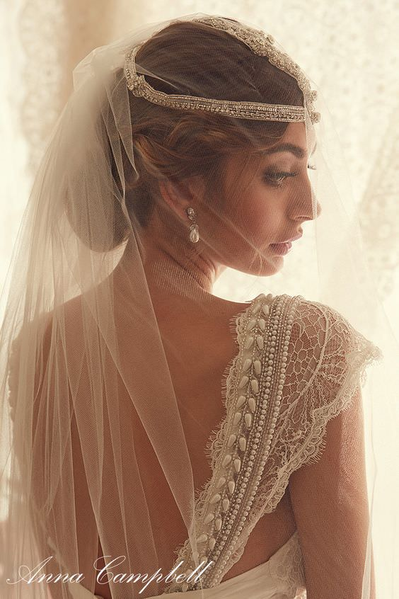 Coco Fit & Flare by Anna Campbell - Paperswan Bride
