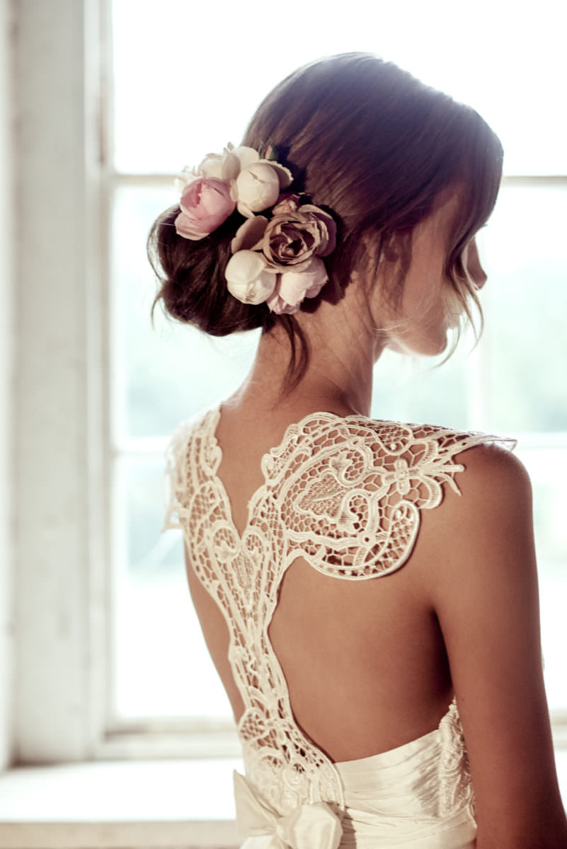Eleanor Silk Tulle Wedding Dress by Anna Campbell - Paperswan Bride