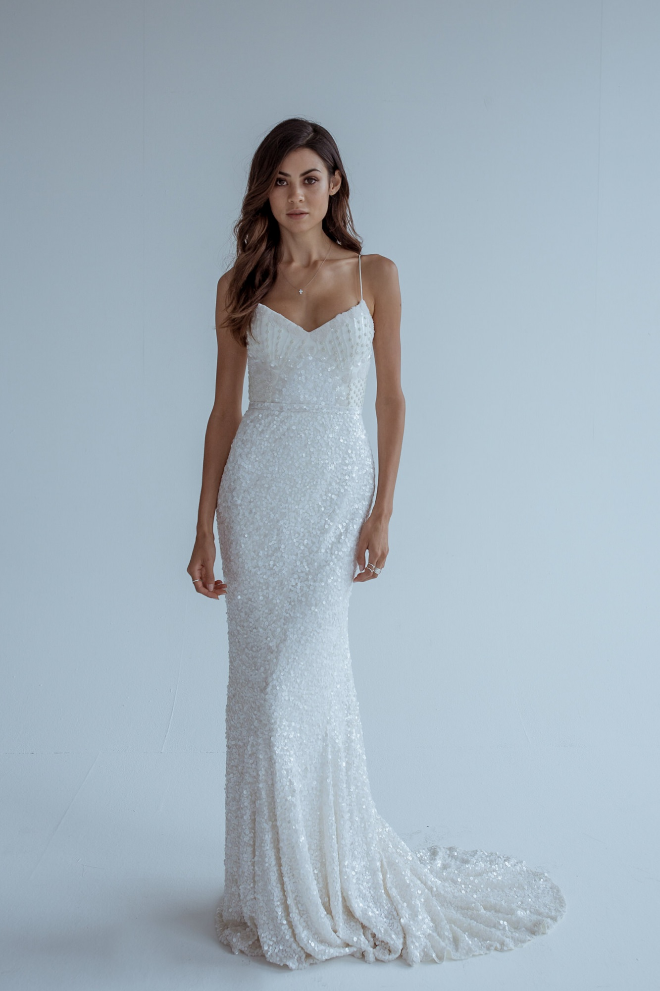 The 2018 wedding dress collection from Karen Willis Holmes. Available exclusively at Paperswan Bride