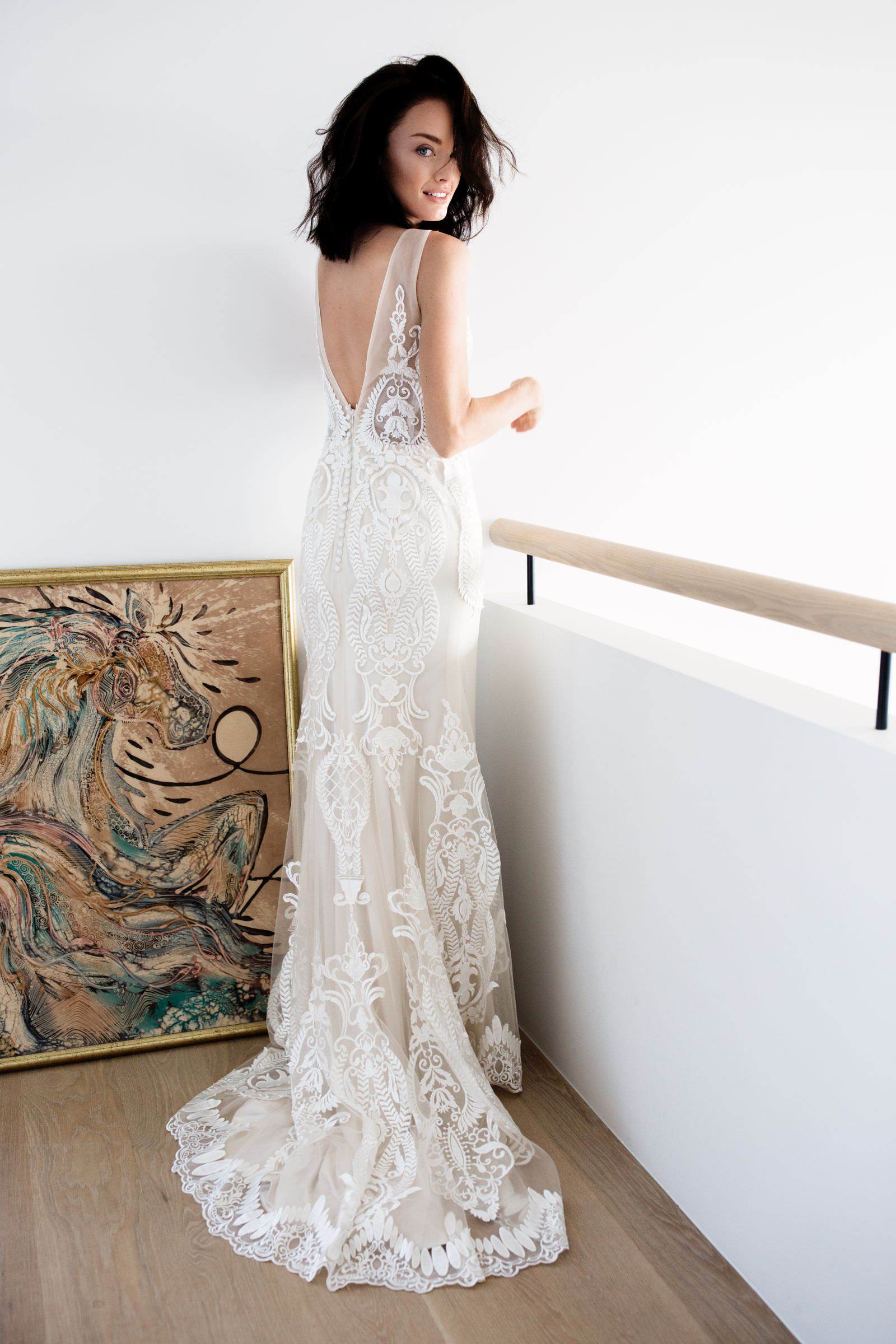 Located in Wellington and Christchurch, Paperswan Bride is the exclusive stockist of a range of wedding dress designer brands.