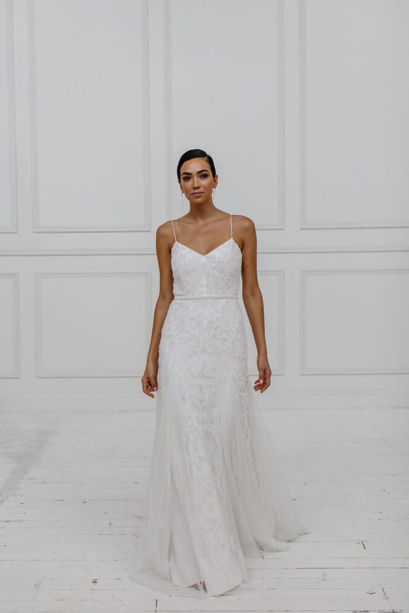 Freya Wedding Dress - Karen Willis Holmes - Paperswan Bride