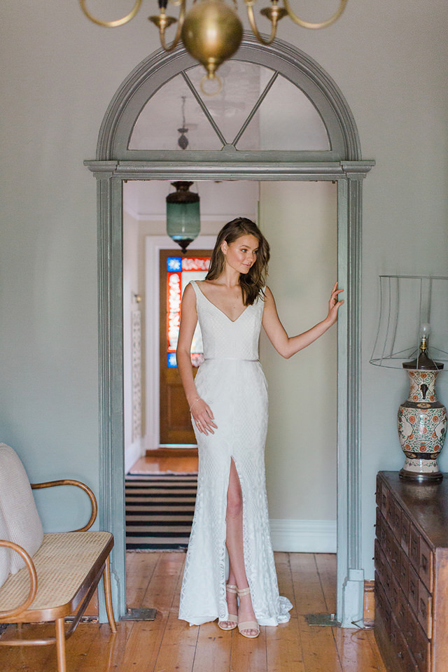 Karen Willis Holmes Bobby Wedding Dress - Paperswan Bride - Wedding Dress Shop Wellington Christchurch NZ