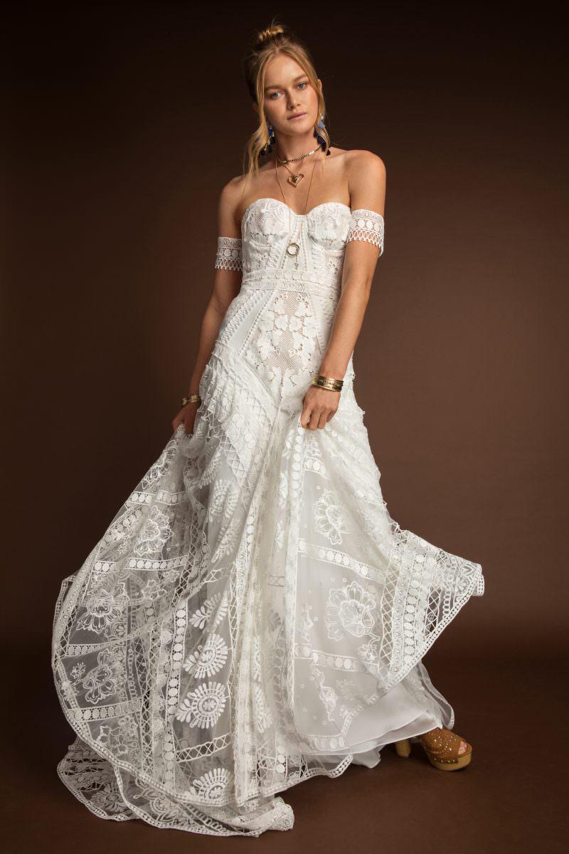 Rue De Seine Clara Wildhearts wedding dress bridal shop store gowns christchurch wellington