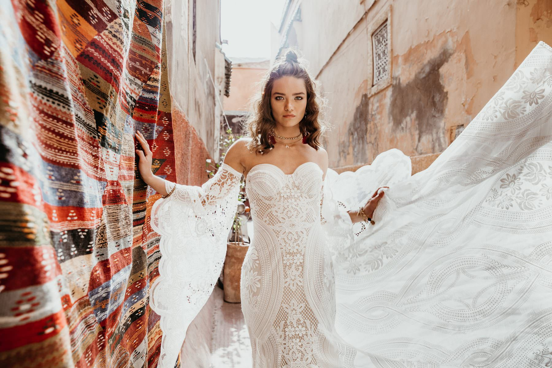 Rue De Seine Adara Wildhearts wedding dress bridal shop store gowns christchurch wellington