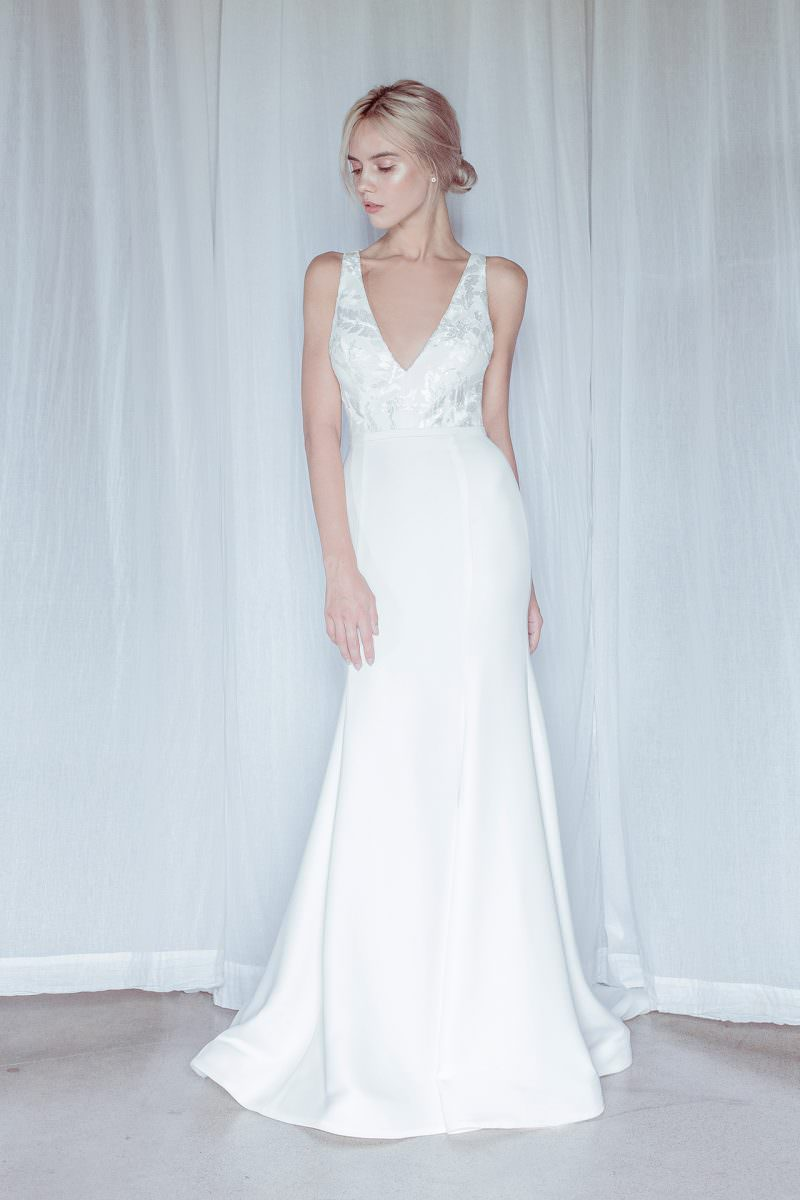 oui the label wedding dress bridal gown shop Wellington Christchurch NZ