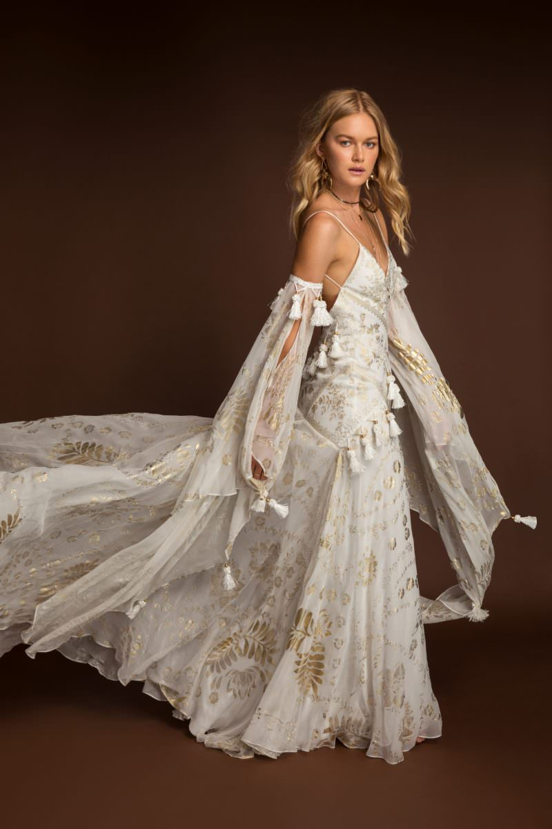 Rue De Seine Mira Wild Heart wedding dress bridal shop store gowns christchurch wellington