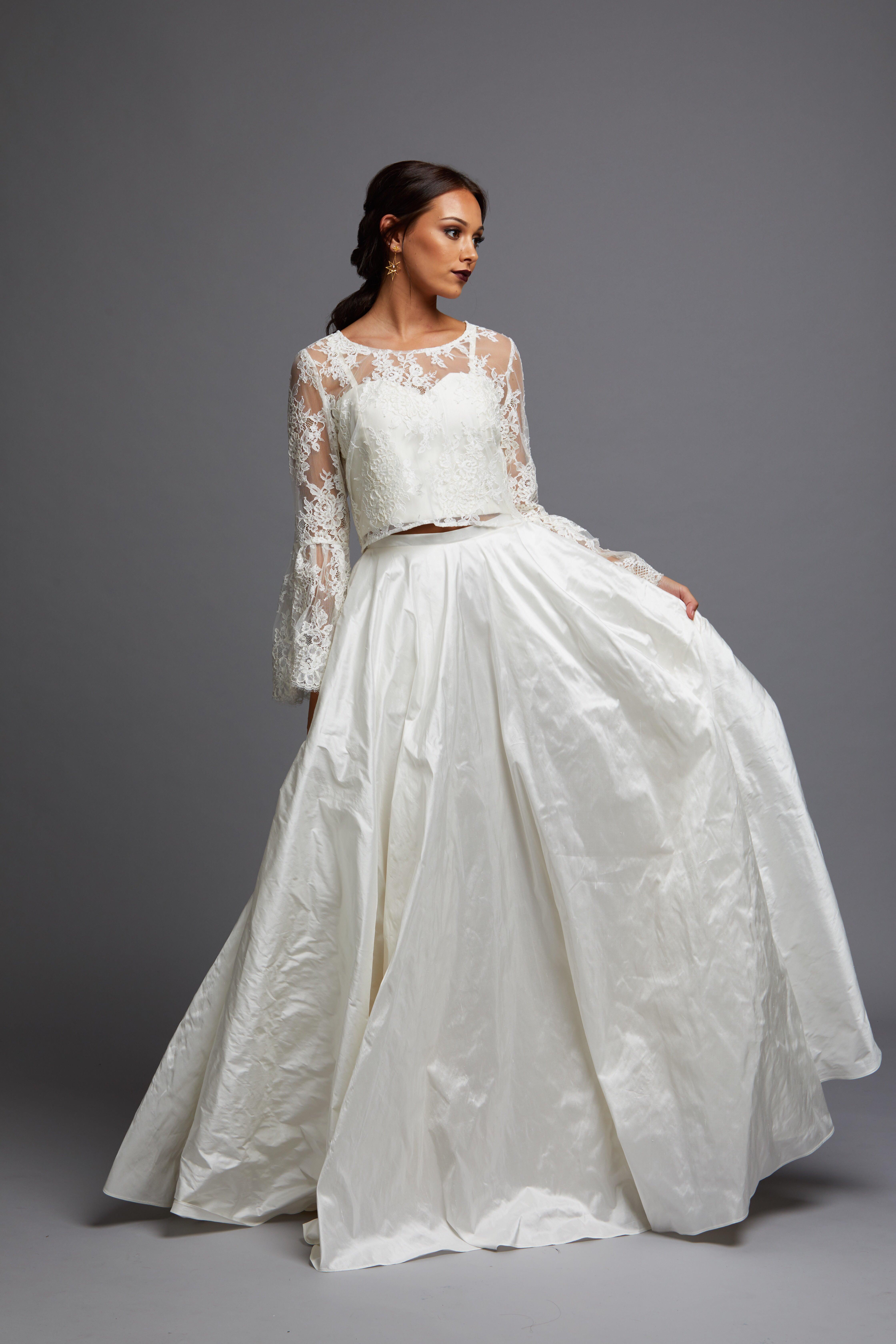 Natalie Chan Bridal Audrey wedding dress bridal shop store gowns christchurch wellington
