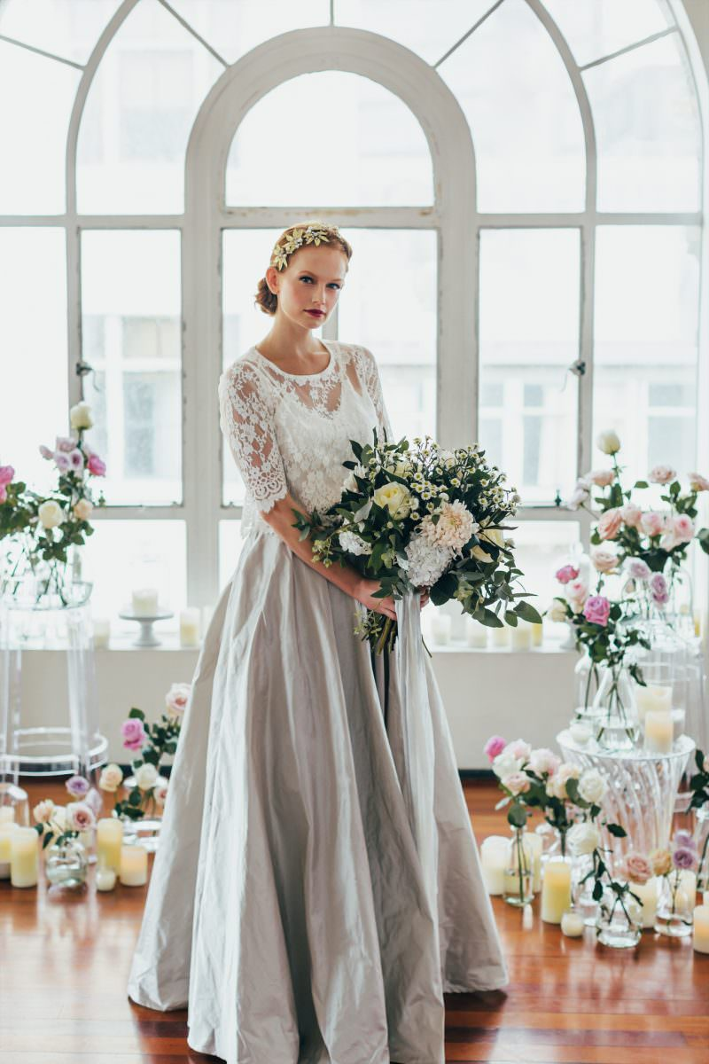 Natalie Chan Bridal gracie blouse wedding dress bridal shop store gowns christchurch wellington