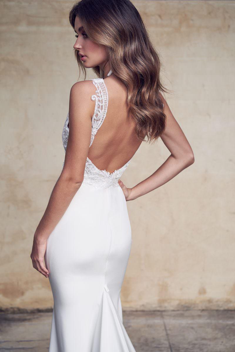 Jamie Dress (Crepe de Chine) Anna Campbell wedding dress bridal shop store gowns christchurch wellington