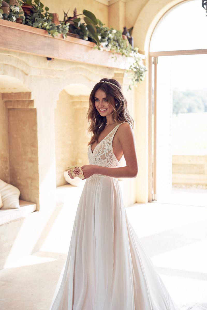 Jamie Dress (Summer Skirt) Anna Campbell wedding dress bridal shop store gowns christchurch wellington