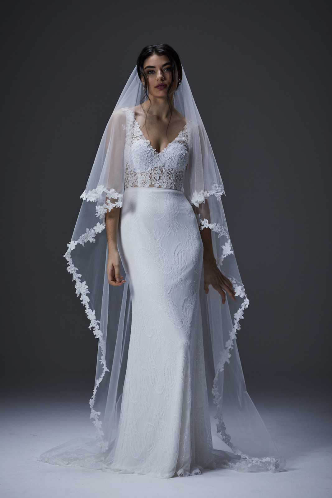 Persian Indigo wedding dress wedding dresses wellington christchurch