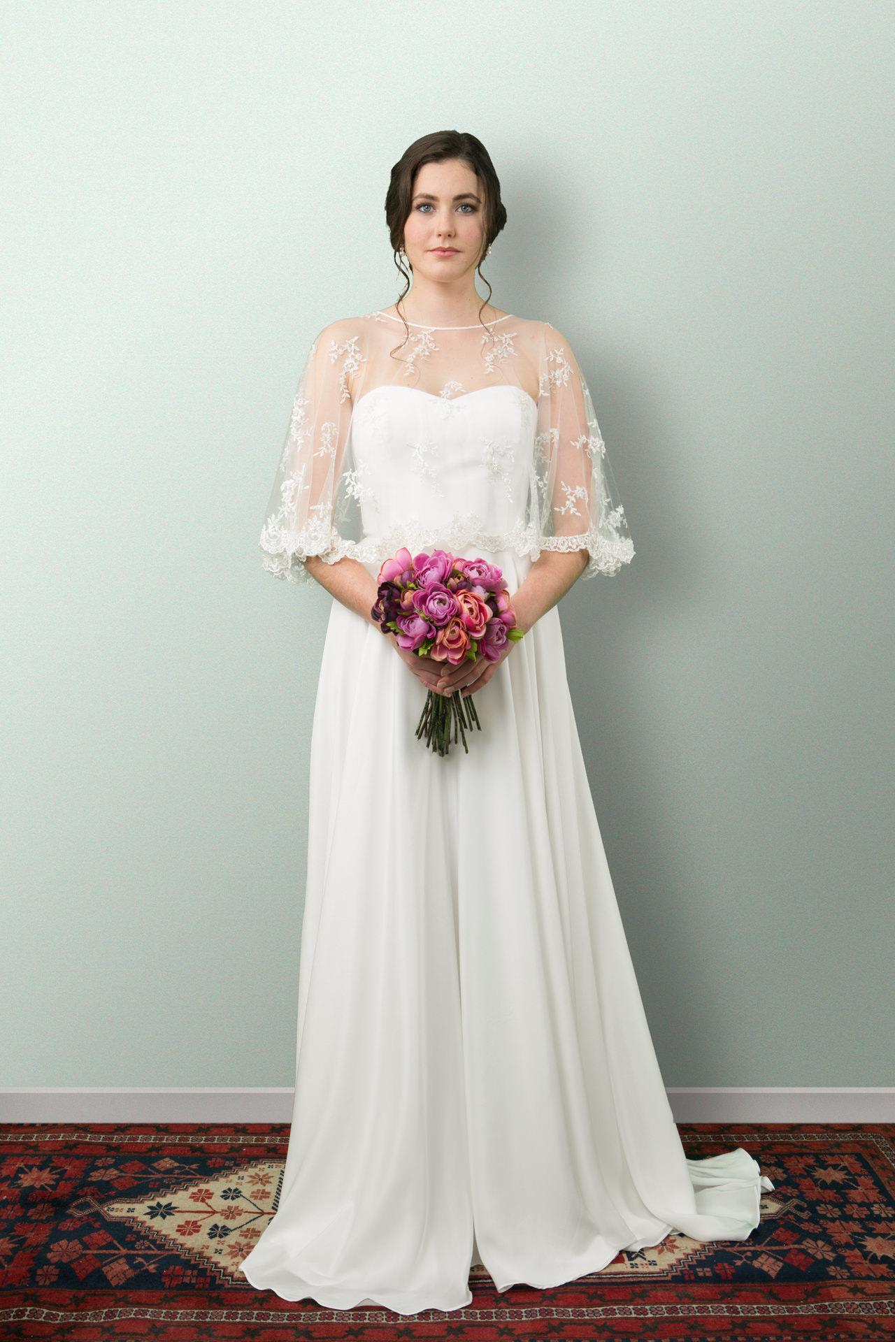 e29dc2e0ec3 Alana Lace wedding dress - PaperswanBride