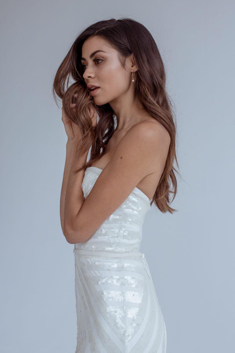 Karen Willis Holmes wedding dress