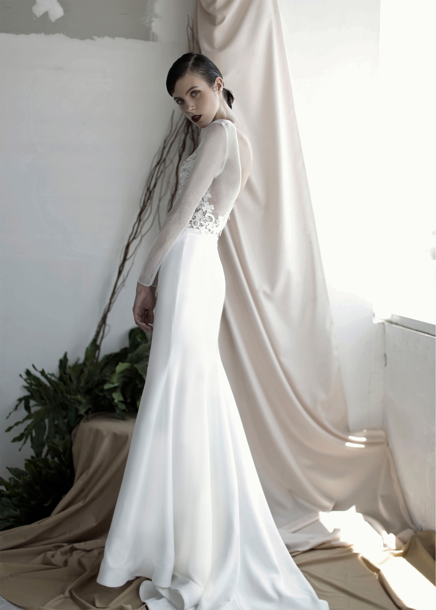 oui the label wedding dress bridal gown shop Wellington Christchurch NZ
