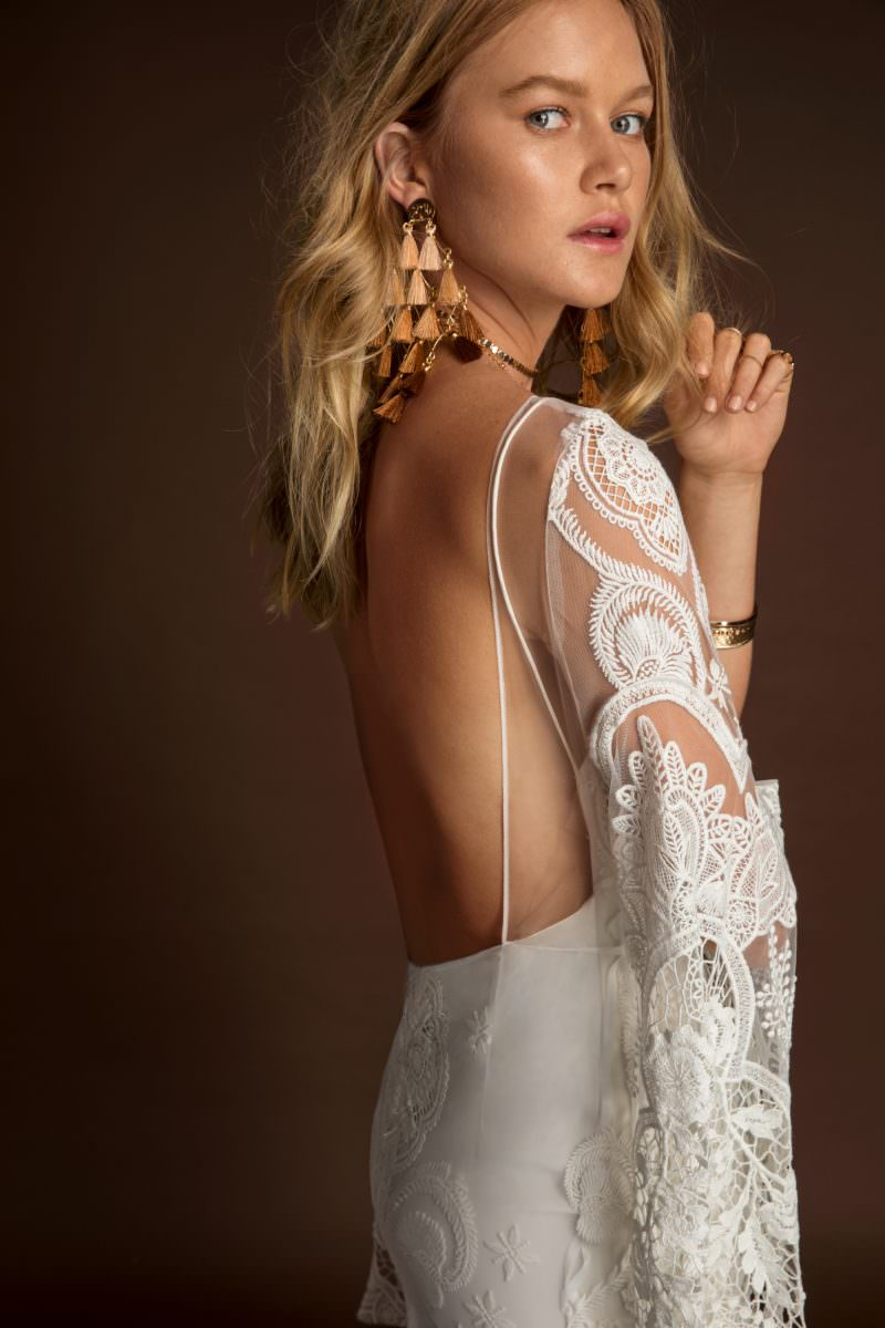 Rue De Seine Sia Wild Heart wedding dress bridal shop store gowns christchurch wellington