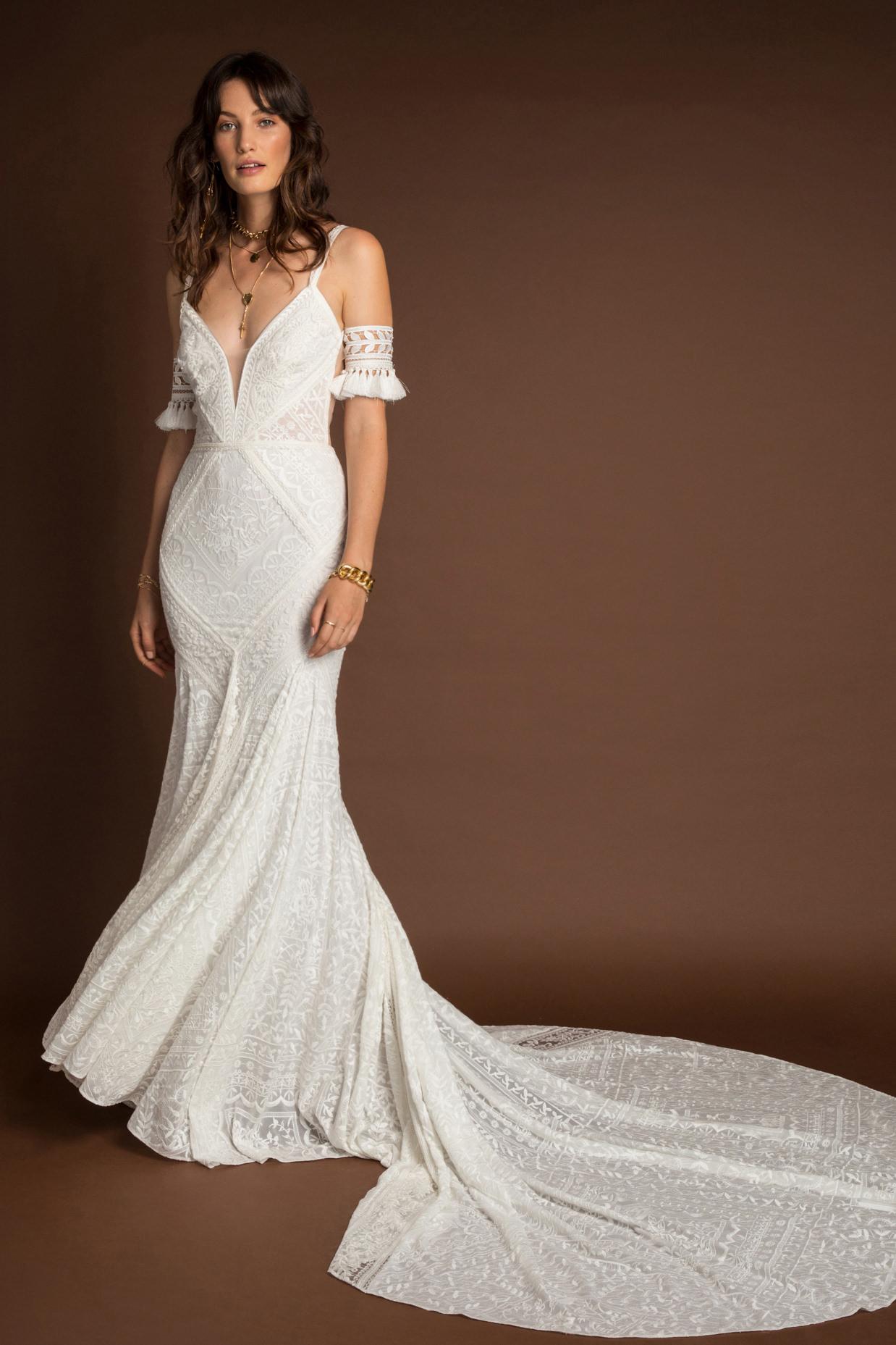 Rue De Seine Tulum Wild Heart wedding dress bridal shop store gowns christchurch wellington
