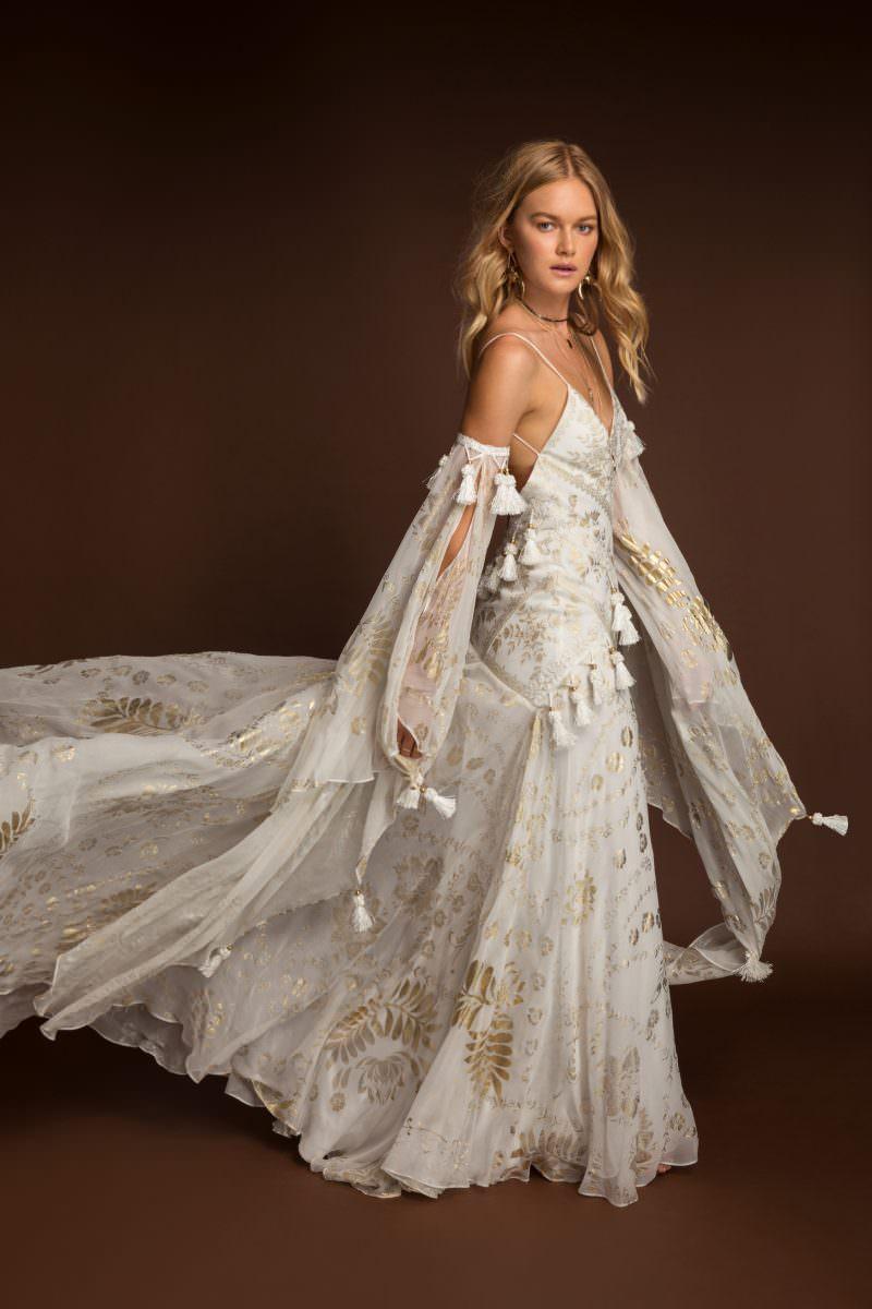 Rue De Seine Mira Wild Heart wedding dress bridal shop store gowns christchurch wellington