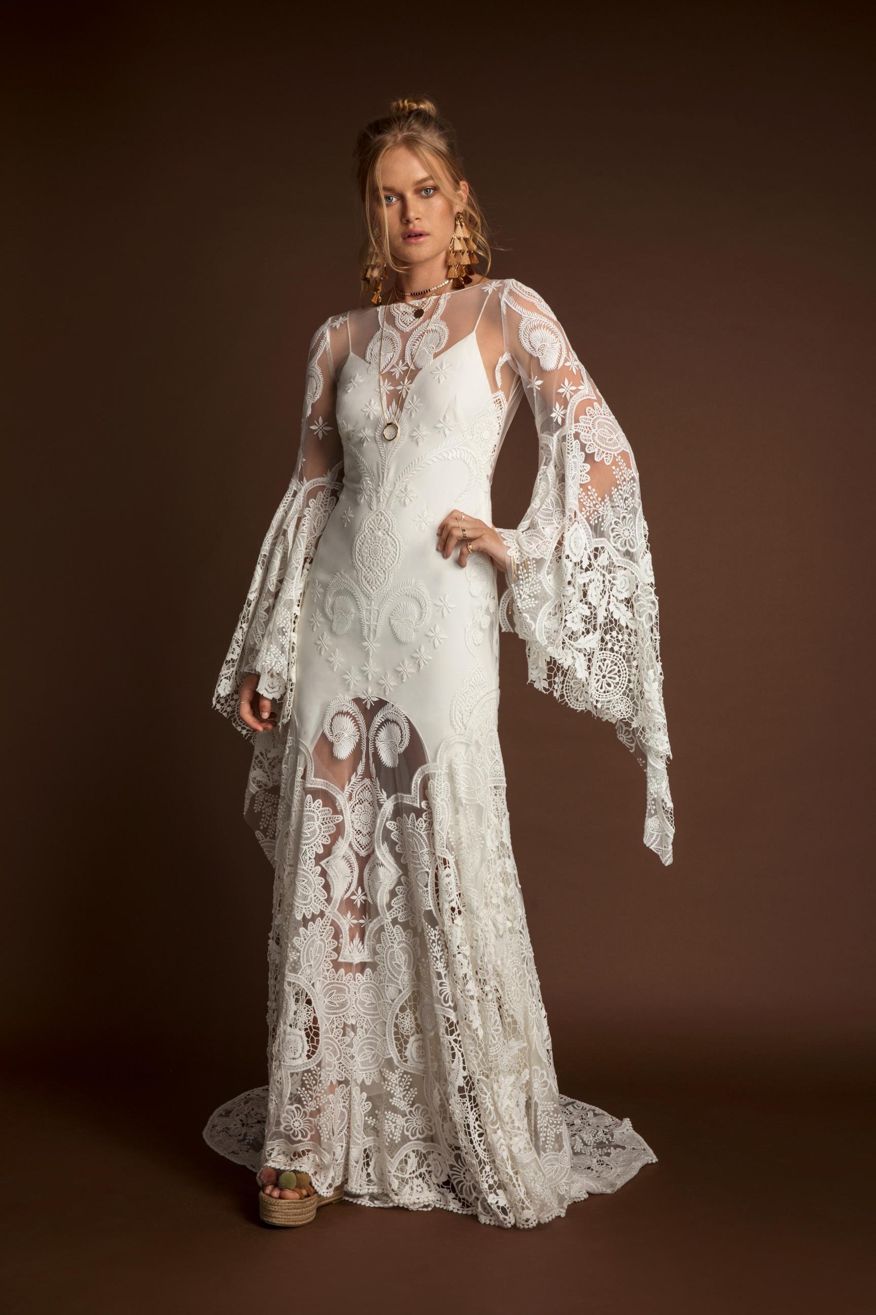 Rue De Seine Sia Wild Heart wedding dress bridal shop store gowns christchurch wellington