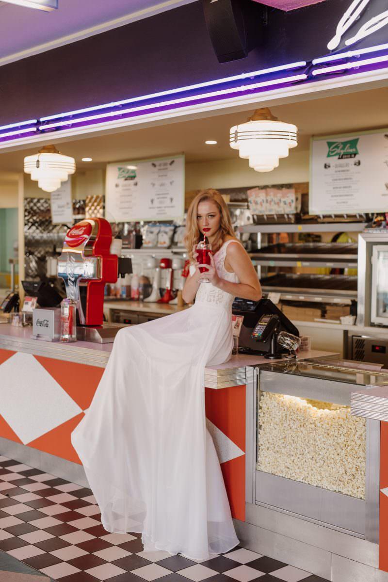Daisy Pixie wedding dress bridal shop store gowns christchurch wellington