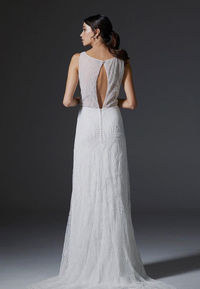 Hera Bridal Miyaki wedding dress bridal shop store gowns christchurch wellington