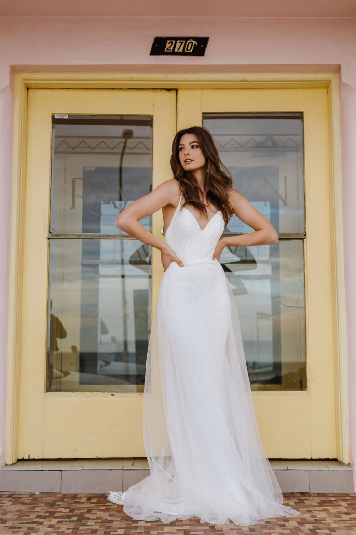 Gardenia daisy Wedding Dress wedding dresses bridal shop store gowns christchurch wellington