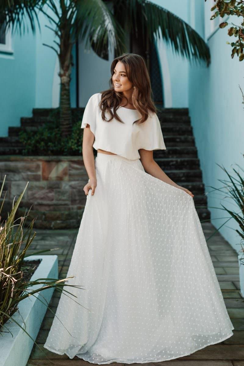 Flora daisy Wedding Dress wedding dresses bridal shop store gowns christchurch wellington