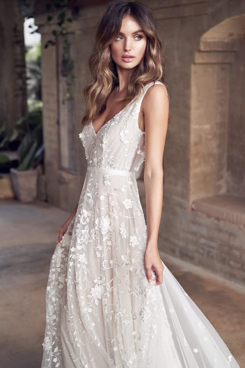 Amelie Anna Campbell wedding dress bridal shop store gowns christchurch wellington