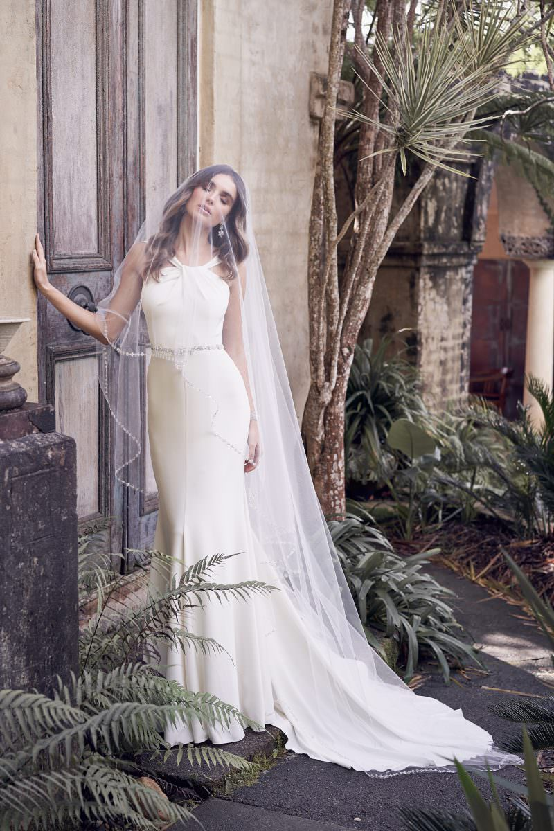 Rebekah Wedding Dress Anna Campbell wedding dresses bridal shop store gowns christchurch wellington